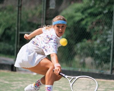 テニスのバックハンド