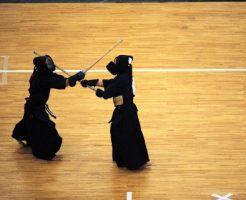 面が決まる|剣道の試合